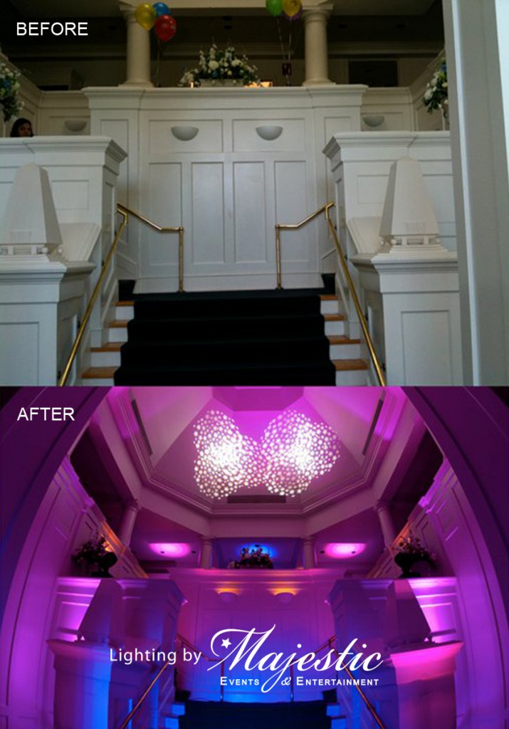 Majestic Lighting Sample Before & After 1 HQ